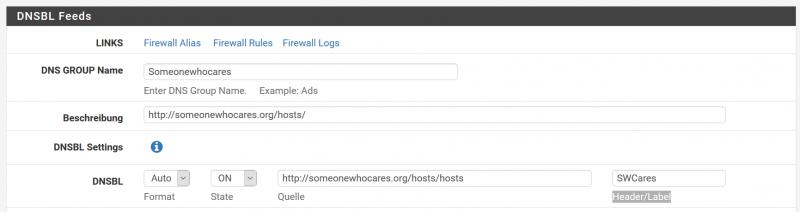 Mit pfSense Werbung und potentielle Angriffe blockieren ala piHole